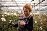 Babytrage Click & Go - Kohlengrau_