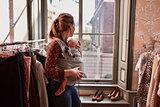 Babytrage Wrap & Go -  Smaragd_
