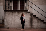 Babytrage Wrap & Go -  Dunkelgrau_