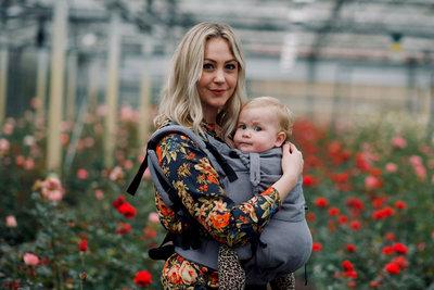 NEU Toddlertrage Click & Go - Navy
