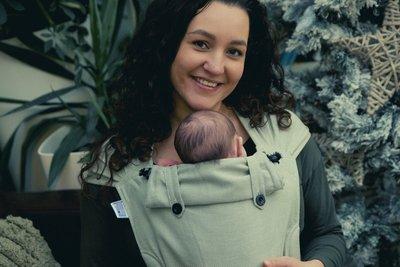NEU Babytrage Wrap & Go -  Olive