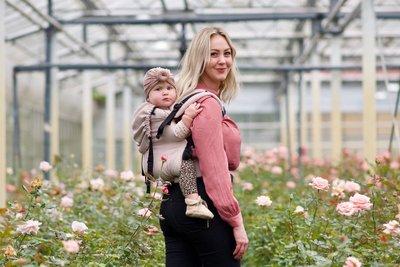 NEU Babytrage Click & Go - Rosa