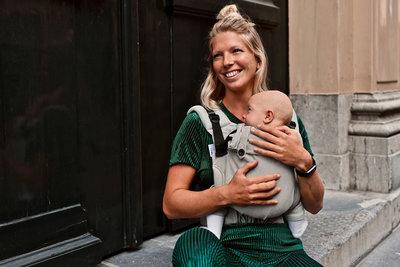 Babytrage Click & Go - Smaragd